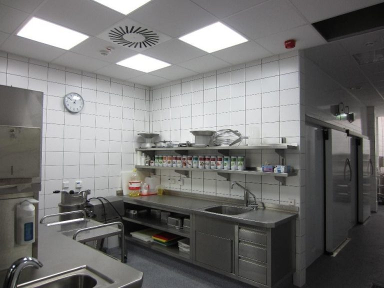 Reaktivierung Produktionsküche – Geschwister-Scholl-Gesamtschule, Göttingen (2011)