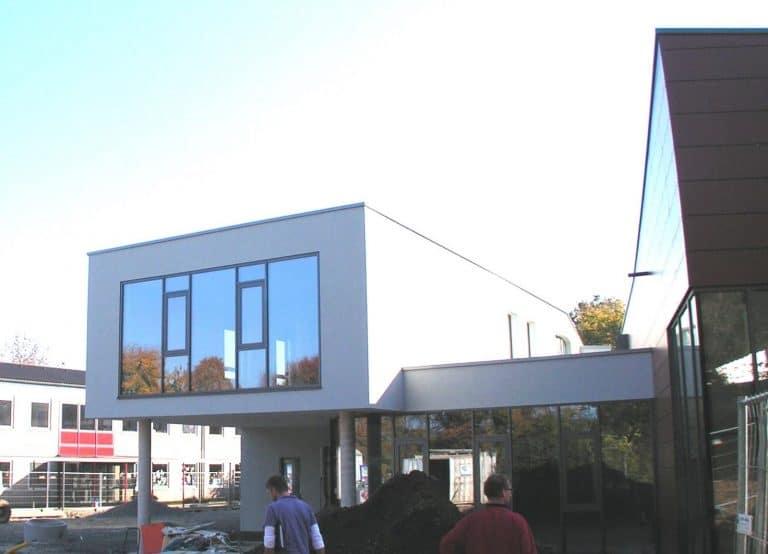 Ersatzneubau eines Schulgebäudes der  Schule Schenkelsberg; Kassel (2010/2011)