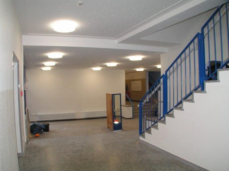 Sanierung des Schulgebäudes H 1  Geschwister-Scholl-Gesamtschule Göttingen (2010)