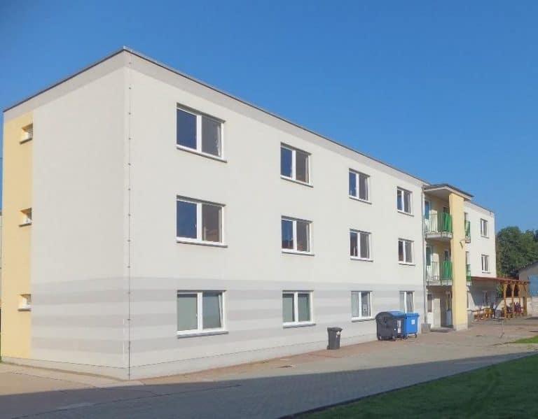 Einbau einer Brandmeldeanlage im Internat – staatliche Berufsbildende Schule Schwerstedt (2015)