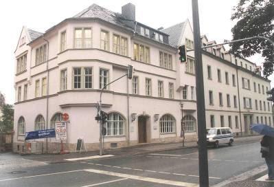Grundsanierung Verwaltungsgebäude Fürstengraben der Friedrich Schiller Universität Jena (2002)