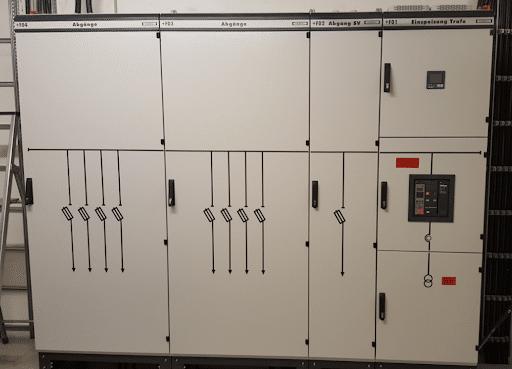 Erneuerung Sicherheitsbeleuchtung, Mittel- und Niederspannungsanlage – Feuerwehr Göttingen (2015)